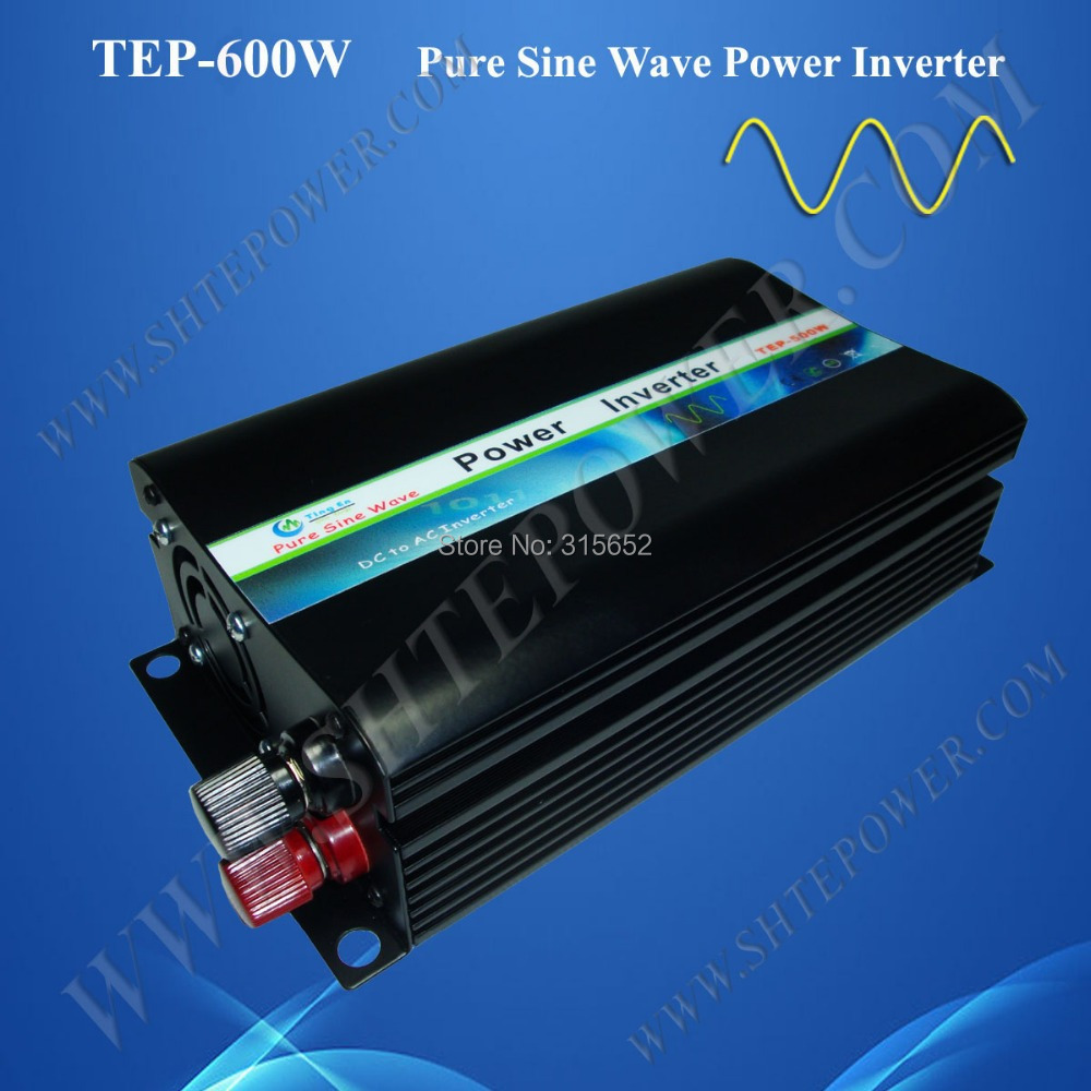 600W 24V 240V Pure Sine Wave Micro Solar Inverter-in Inverters & Converters from Home Improvement    1