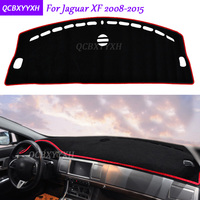 For Jaguar XF 2008 2015 Dashboard Mat Protective Interior Photophobism Pad Shade Cushion Car Styling Auto