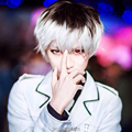 Tokyo Ghoul Wig 35cm Black White Ombre Short Straight Anime Sasaki Haise Cosplay Harajuku Male Wigs Synthetic Hair Men Wig
