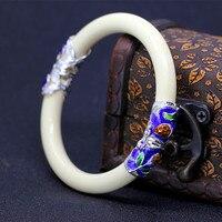 New women's paint cloisonne fashion beauty imitation ivory bracelet