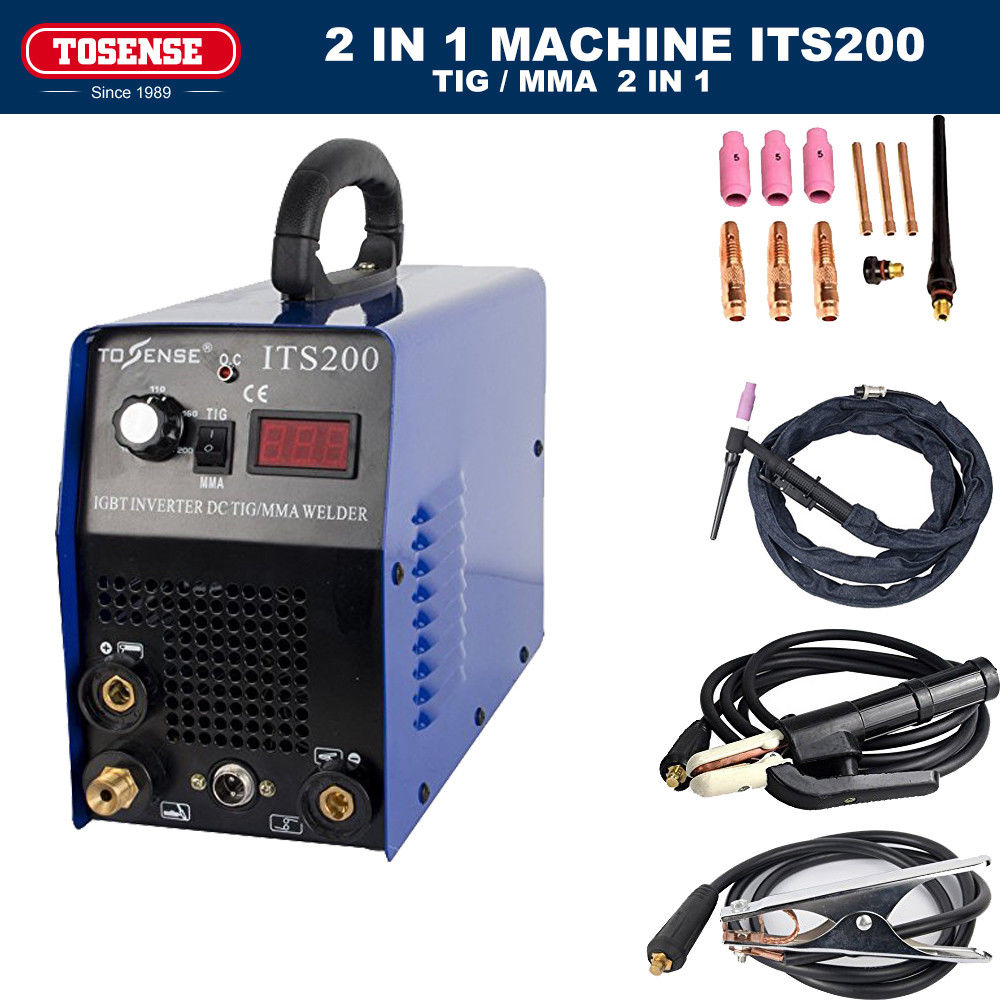 ITS200 TIG MMA Welding Machine Stainless Carbon Steel Welder 110//220V