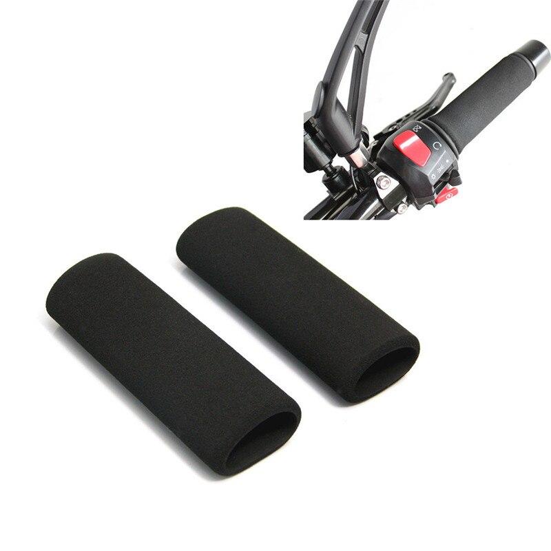 Motorrad Lenker Grip Cover Moto Slip-on Schaum Anti Vibration Comfort Hand Grip Abdeckung Motorrad