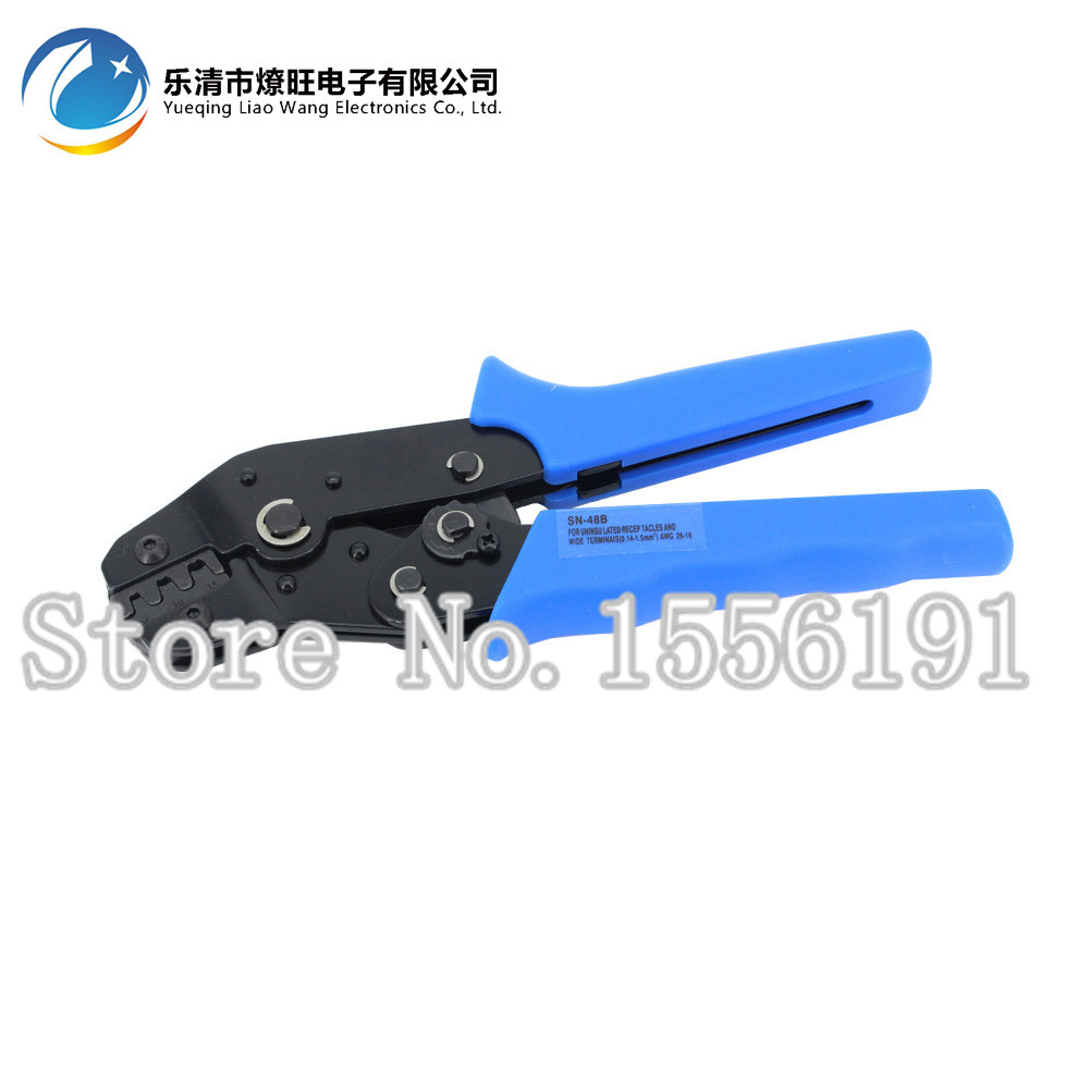 Hand Crimping Tool SN-48B,Connect clamp pliers, 26-16AWG,SN 48B High Quality Crimping plier,Combination Pliers 0.5-1.5mm2  цены