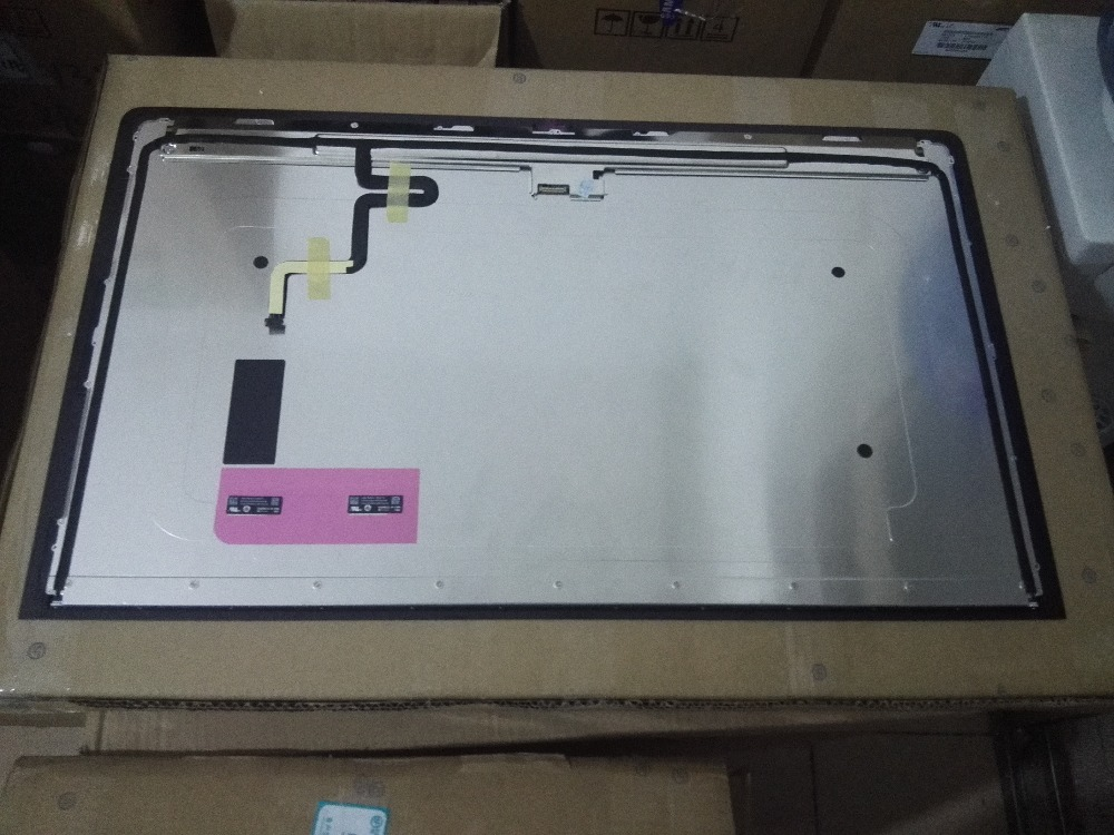 "original A1419 2K LCD Screen with glass assembly LM270WQ1 SD F1 F2 For iMac 27"" Late 2012 2013 ME088 ME089 MD095 EMC 2546 2639-in Laptop LCD Screen from Computer & Office    3"