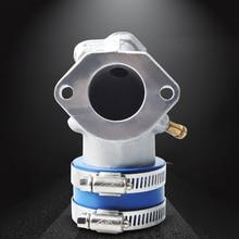 NIBBI Racing Motorcycle carburetor Flat Slide Carb Air Intake manifold for Cygnus Mio 125CC