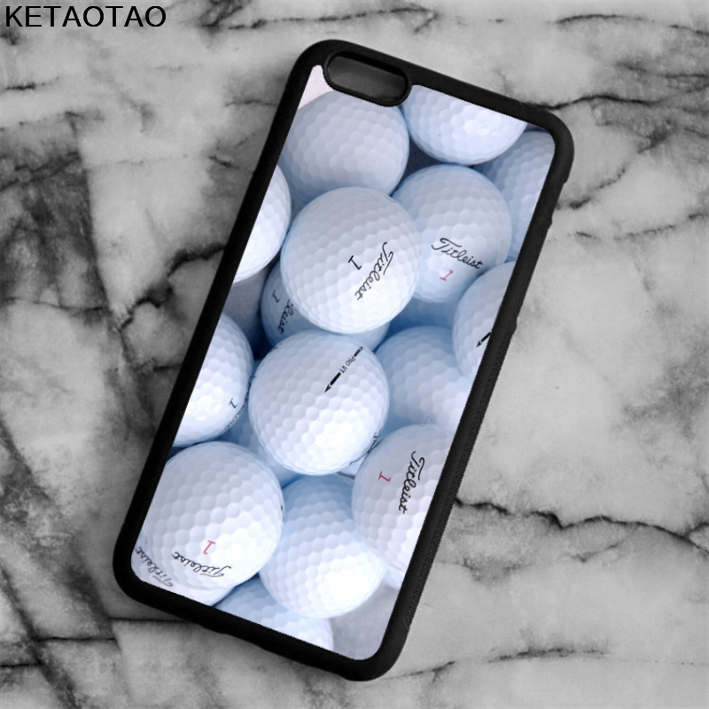 KETAOTAO golf ball Printed Phone Cases for iPhone 4S 5S 6 6S 7 8 X PLUS for Samsung S5 6 7 8 NOTE Case Soft TPU Rubber Silicone