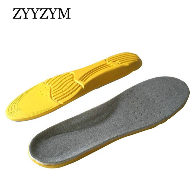 ZYYZYM Men Women Insole Shoes Pad Sports Shock Absorbing Running High Elastic Massage Super Breathable Perspiration EVA Insole