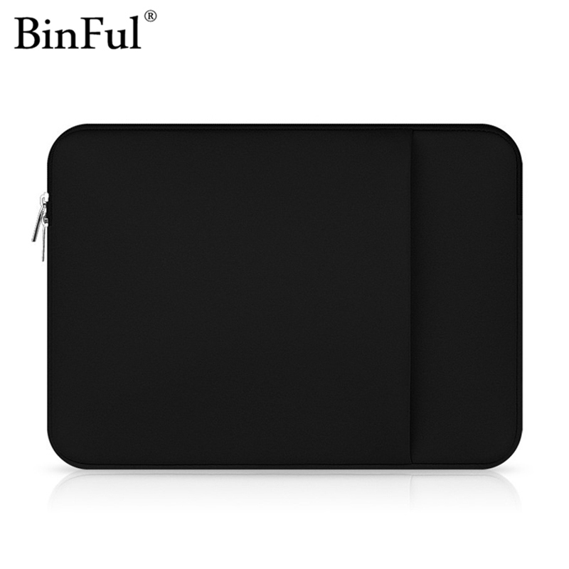 Binful Sleeve Laptop Bag for Macbook Air Pro Retina 11 12 13 14 15 15.6 Computer Bag Case Cover for 13.3 14 15.6 inch Notebook