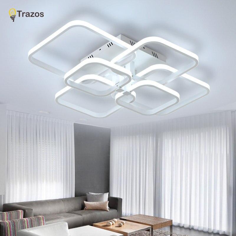 Trazos 2019 Rechteck Acryl Aluminium moderne LED Deckenleuchten für - Innenbeleuchtung - Foto 4