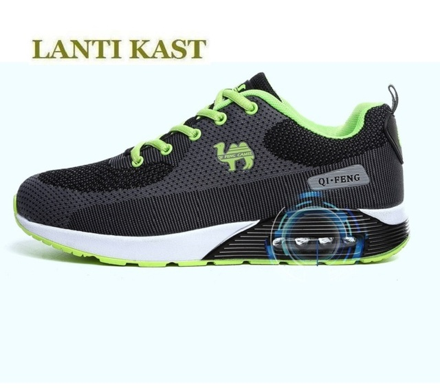 Us 56 99 New Shoes Woman And Men Lifestyle Running Shoes Cushion Sole Breathable Mesh Sport Shoes Men Brand Sneakers Light Runing Lovers In Running