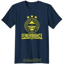 Fenerbahce SK Turkey Purplish blue T-shirt canary fan T Shirt Camiseta Istanbul Jeremain Lens Robin van Persie Moussa Sow club цена