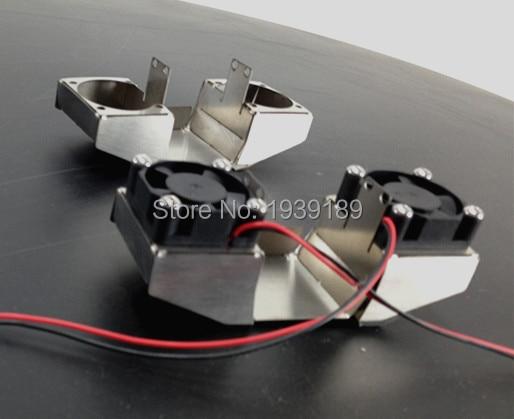 3D DIY Druckerteile Lüfterkanal Edelstahl Lüfterhaube - Büroelektronik - Foto 4