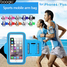 4.7-5.5″ Inch Mobile Phone Sweatproof Waterproof Jogging Running Arm Bag band Holder Case Outdoor Sport Cellphone Bag Pouch