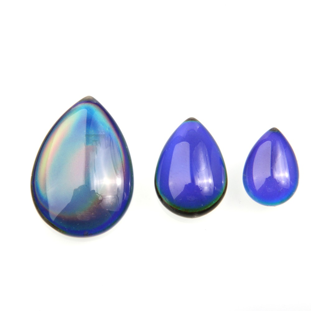 10pcs/bag Cabochon Color Change By Temperature 10X14 13X18 18x25mm Oval Shape For Making Jewelry DIY