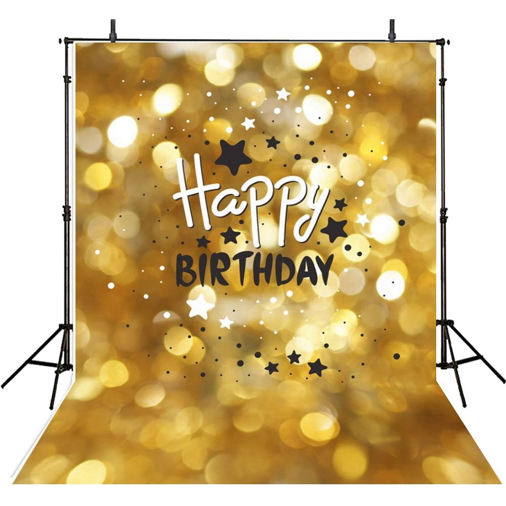 Birthday Photography Lighting: Bokeh Photography Backdrop Baby Vinyl Backdrop For