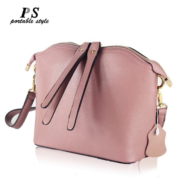fc0da30aa 2018 famous brand designer ladies shoulder messenger bags genuine leather women's  shoulder bags women's shell crossbody bag