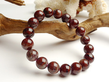 11mm Natural Red Purple Auralite 23 Canada Round Beads Bracelet Crystal Gemstone Women Men Stone Rarest Bracelet Jewelry AAAAA цена и фото