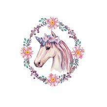 Unicorn Animals Iron On Patches For Clothing Fabric DIY A-level Washable Heat Transfer Stickers Decoration Appliqued Badge clothing to iron on patches personality wolf patches a level washable heat transfer stickers 25 19cm appliqued