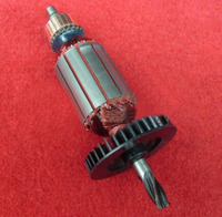 AC220V Electric Impact Drill 4 Teeth Shaft Armature Rotor For Bosch GBH 2 20se