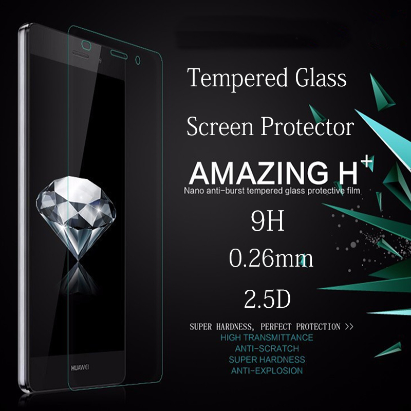 Hot High Definition 0 26mm Tempered Glass on For Iphone X 8 7 6 Plus for Iphone 5S 5 SE 5C 4 Front Back Screen Protective Glass in Phone Screen Protectors from Cellphones Telecommunications