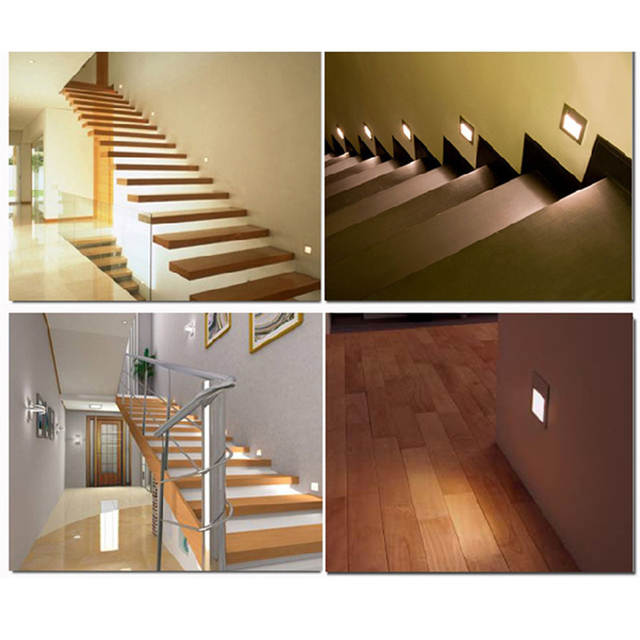 Online Shop 2pcslot Indoor Pir Motion Sensor Led Stair Light
