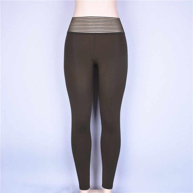 SVOKOR sólido Sexy 2018 Otoño Invierno push up leggings mujeres sexy ropa deportiva leggins entrenamiento fitness alta cintura sporting legins