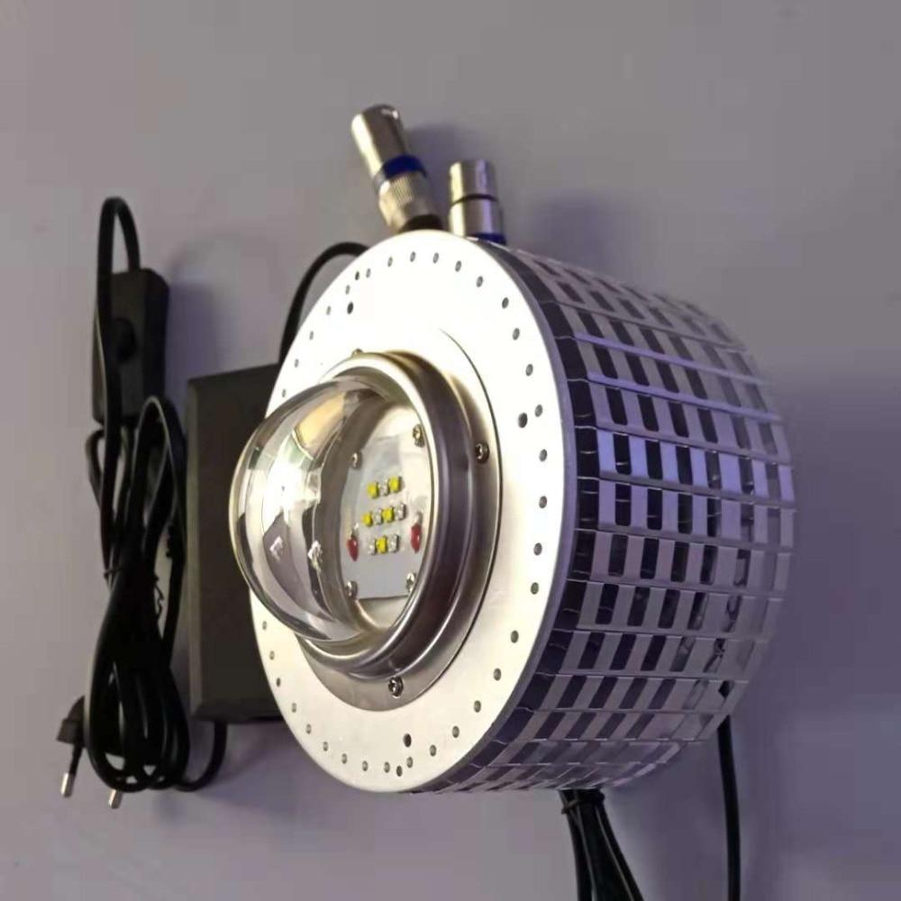 Lumière LED d'aquarium 50 W CREE marine LED corail récif éclairage magique poisson plante lampe réelle puissance