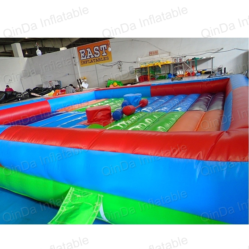 Inflatable Gladiator Joust Fing With Sticks Inflatable Jousting Arena Inflatable Fighting Game Knock off Your Head Game