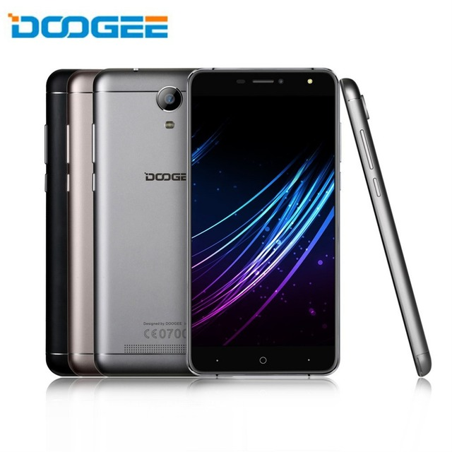 DOOGEE X7 6 Inches Large Screen Smart Mobile Phone Quad Core MTK6580 Dual SIM RAM 1GB ROM 16GB 3700mAh Android Phone