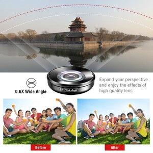Image 5 - APEXEL 5in1 Kit de lentilles de téléphone portable Pro photographie HD Fisheye lentille de télescope Macro Super grand Angle pour Samsung iPhone Xs xiaomi
