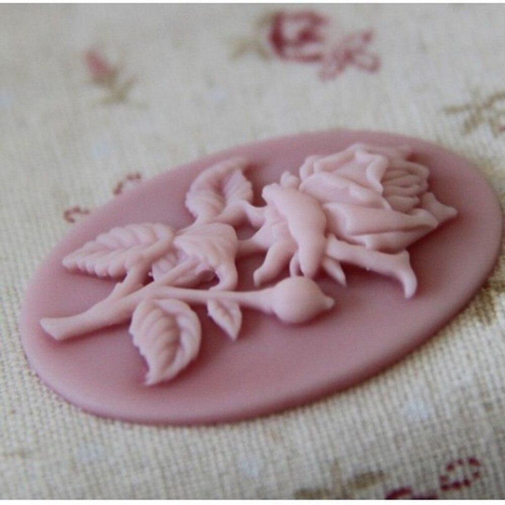 1Pcs Hot Sell  Rose Flower Cake Silicone Mold Fondant Cake Decorating Chocolate Craft Decoration Mold  Kitchen Baking Cake Tools