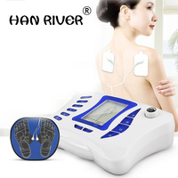 Electronic digital meridian massager Acupoint pulse meter Household electric massager Multi functional whole body neck and waist