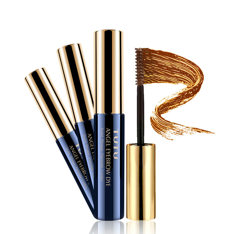 Brand New Makeup 5 Colors Dye Eyebrow Gel Cream Eye Brow Shadow Make Up Set Waterproof Brown Colorful Eyebrow Enhancer