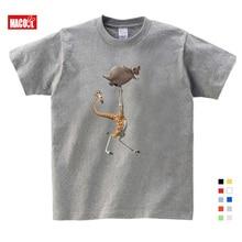 Cartoon Printing Madagascar Summer New T Shirt Gloria Melman Cute Funny Send Children Birthday Gift Kids Clothes