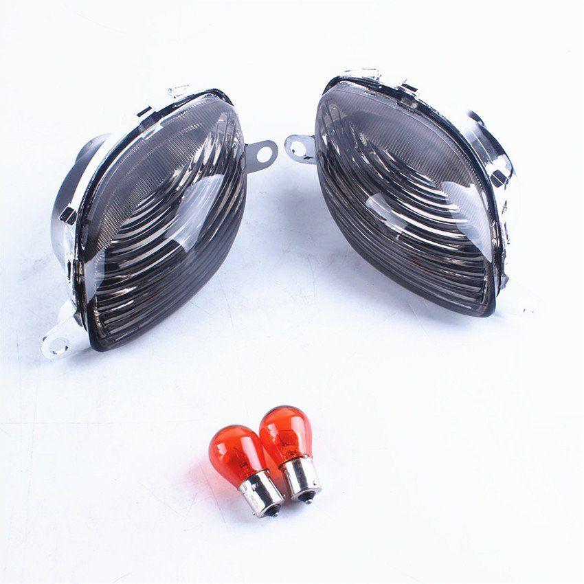 For 99-07 Suzuki GSX 1300R GSXR1300 Hayabusa Pair LED Turn Signal Light Indicator Blinker Side Flash Lamps Motorcycle Parts
