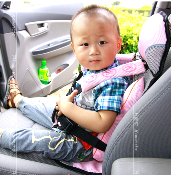 Super Light Weight Portable Baby Car Seat Soft Comfortable Safety Cushion Adjustable Auto 3 10 Years Old In Child Seats From