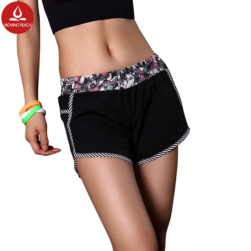 Cycling running compression cargo yoga sport shorts women fitness damen gym yoga high wa ...