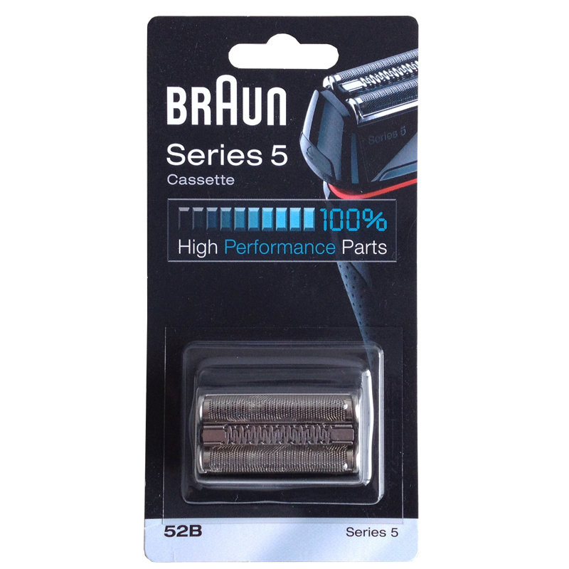 Braun 52B Razor Cassette Replacement for Series 5 Shavers High Perfprmance Parts(5090 5050 5030) сетка для электробритв braun series 5 52b