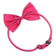 DHDL-Cat Collar Pet Dog Bow Tie Puppy Accessory Cute Rose