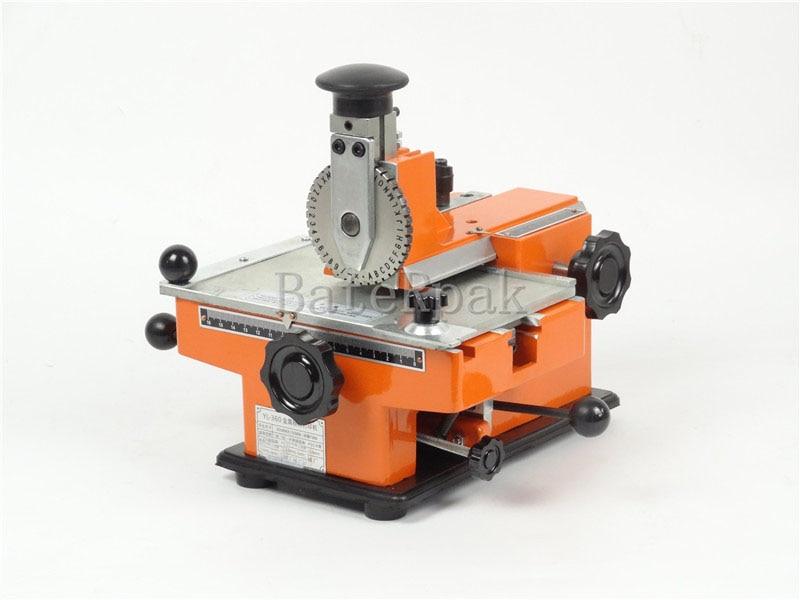 Ręczna maszyna do znakowania BateRpak YL-360, aluminiowa maszyna do - Narzędzia ręczne - Zdjęcie 2