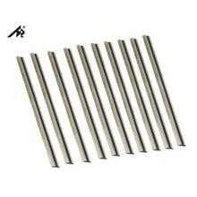 """HZ 10 ADET TCT Tungsten Karbür 3 1/4 """"82mm planya bıçağı bıçakları MAKITA, BOSCH, deWalt, SIYAH & DECKER, Ryobi, YAŞ"""