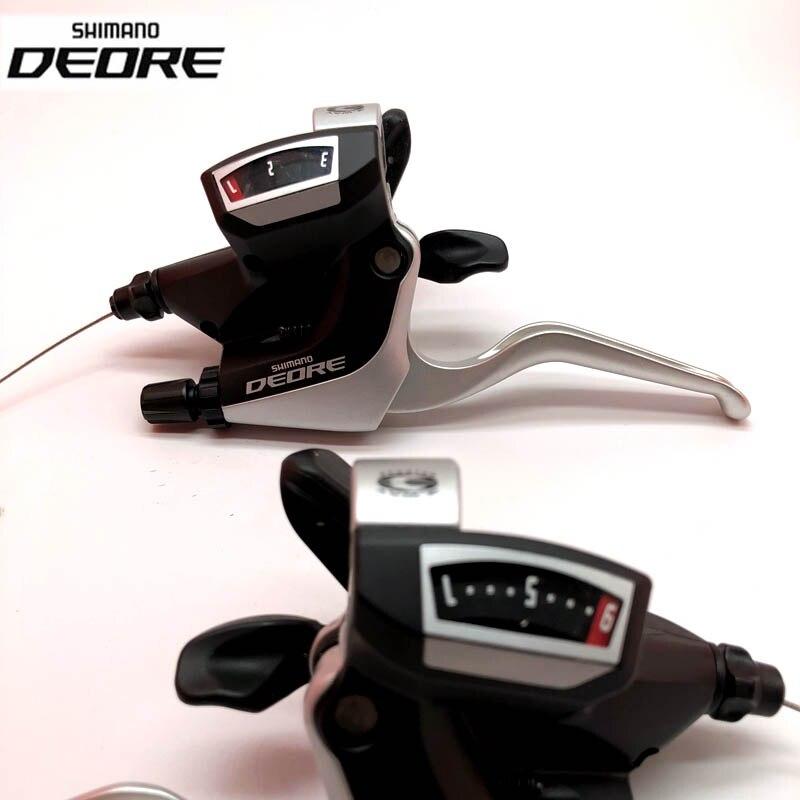 SHIMANO DEORE vtt shifter ST-M590 Gear shift levier 3*9 Contrôle poignée raccord De Bicyclette DIP Vélo dérailleur