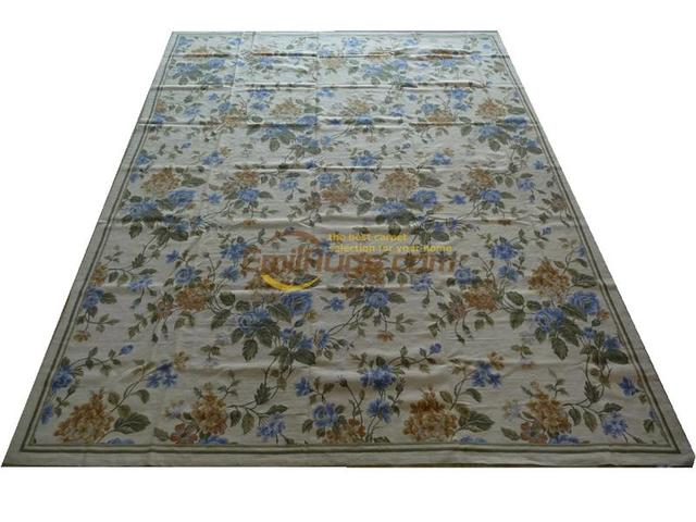 100 Wool Hand Sched Needlepoint Carpets Needleopint Rugs 9 X 12 274cmx366cm Gc032