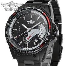 T-WINNER Digital Inside Top Brand Luxury Watch Fashion Sport Mens Manual Automatic Mechanical Wrist Clock Horloges Mannen