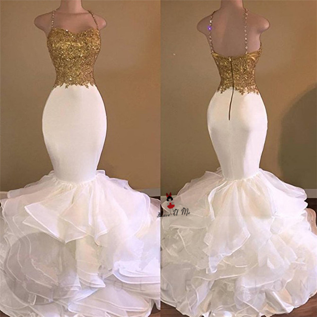 White Sexy Prom Dresses