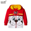 Spring/Autumn jacket for baby girls Infant Hooded Sweatshirt Outerwear Long Sleeve Cartoon Kids Jacket Zipper Children costumes