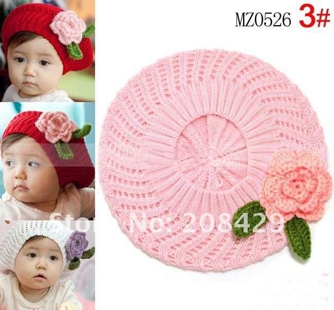 Free shipping Handmade Cotton Crochet Hat Cap Beanie Baby