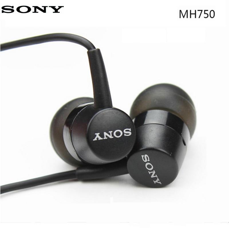Original Sony Earphone In-Ear Super Bass Earbuds With Mic For XPERIA Z3 Z4 Z5 XA XZ XZS XZ1 XZ2 XZ3 XA L1 Ultra Androids Phones