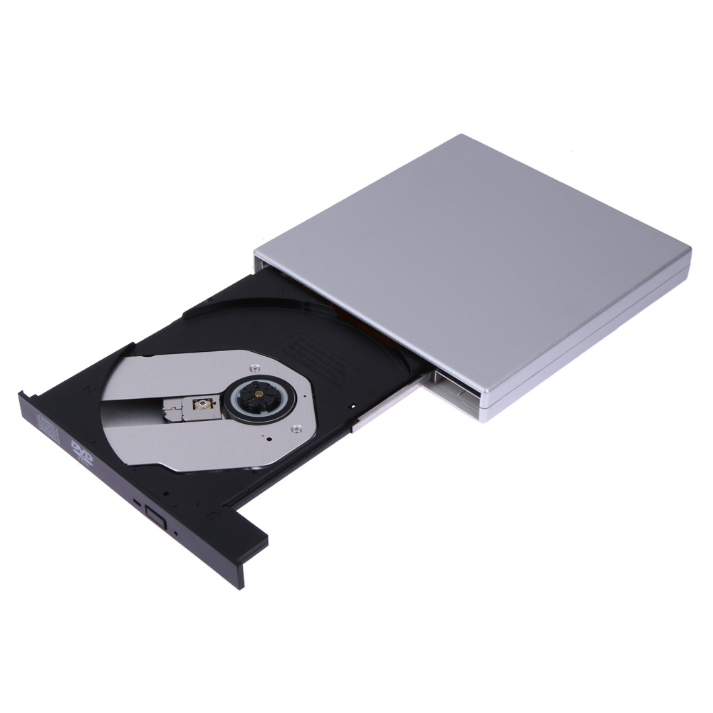 USB2.0 External DVD Combo CD-RW ROM Burner Drive 24x CD-ROM Read 24x CD-R Write Speed Ex ...