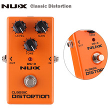 NUX Classic Distortion Guitar Pedal Electric Guitar Effect Pedal True Bypass High Quality Guitar Parts & Accessories